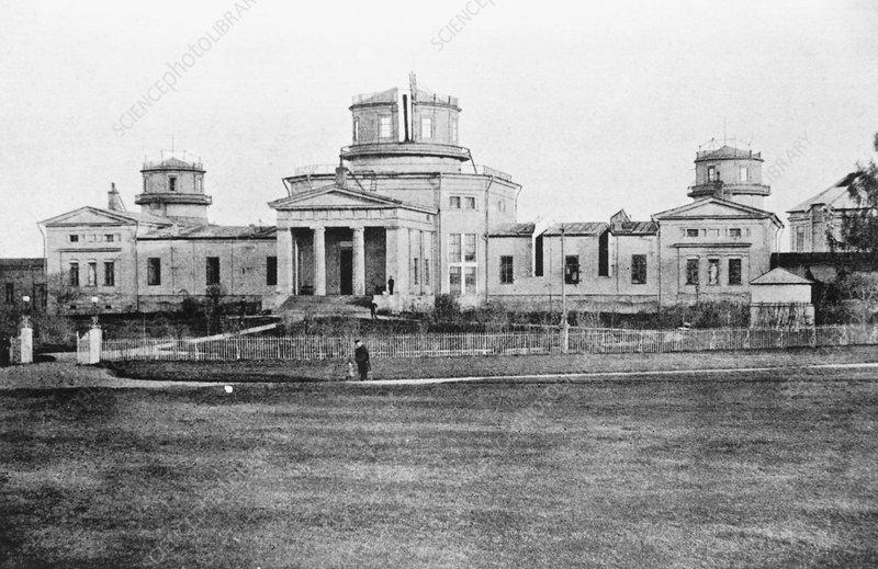 Pulkovo observatory, Russia, in 1889