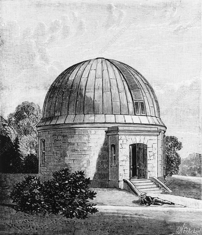 Drawing of the Dunsink observatory in Dublin