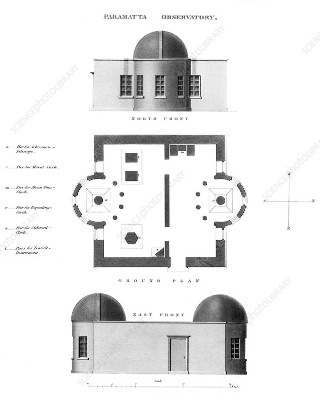 Parramatta Observatory plans