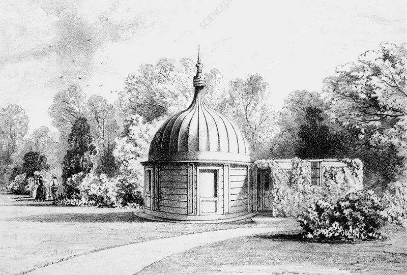 Regents Park observatory, 19th century