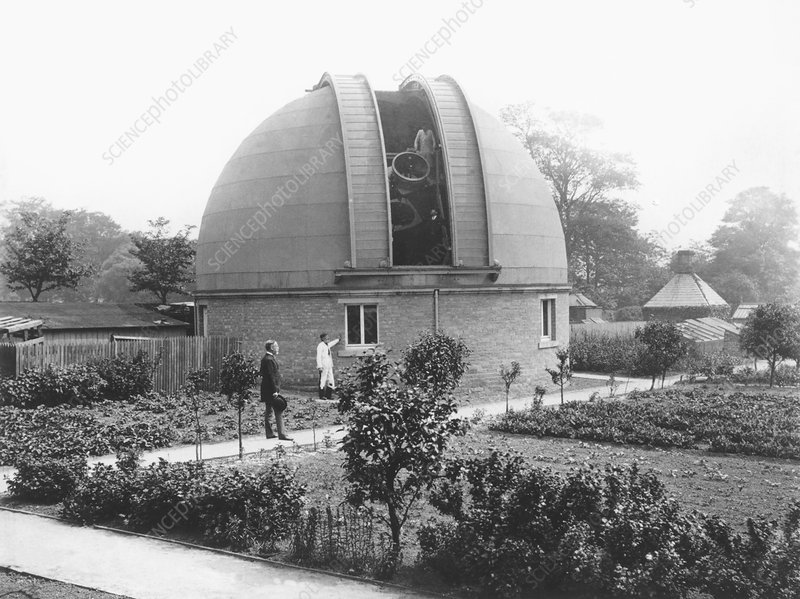 Crossley's observatory, Halifax, England