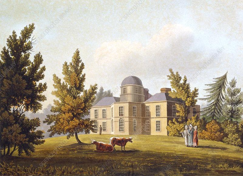 Dunsink Observatory, Dublin, 1820