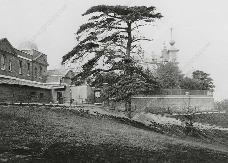 Royal Observatory, Greenwich, 1883