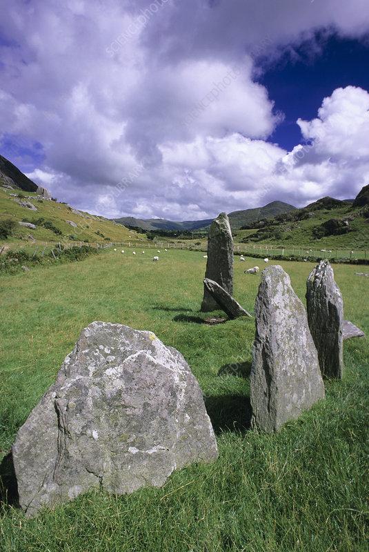 Stonebirrane stone circle