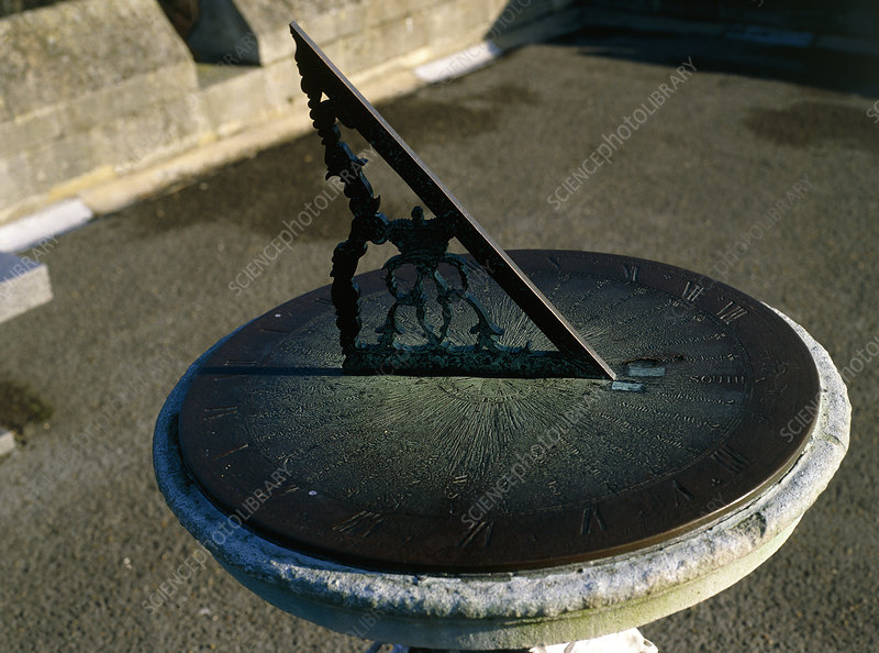 Sundial at Winsor castle