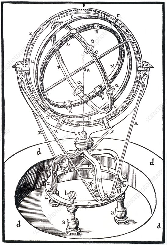 The zodiacal armillary instrument