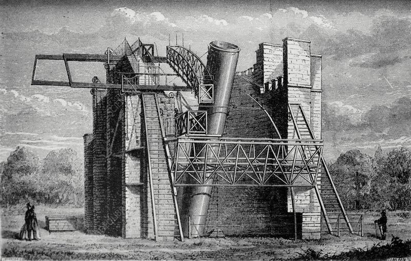 William Parsons' 'Leviathan' telescope.
