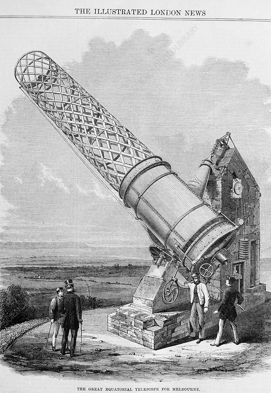 Great Melbourne Telescope, 1868