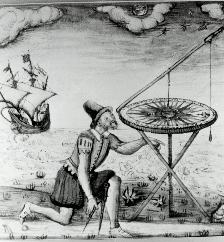 17th century navigation