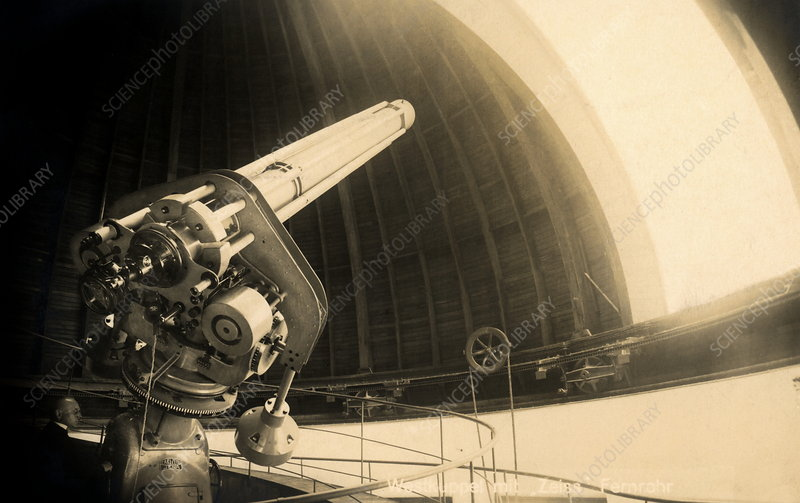 Refractor telescope, 1928