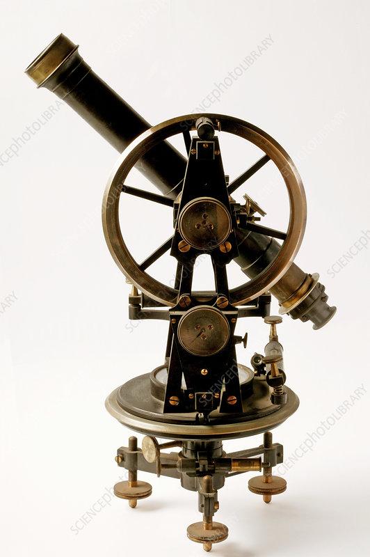Historical telescope