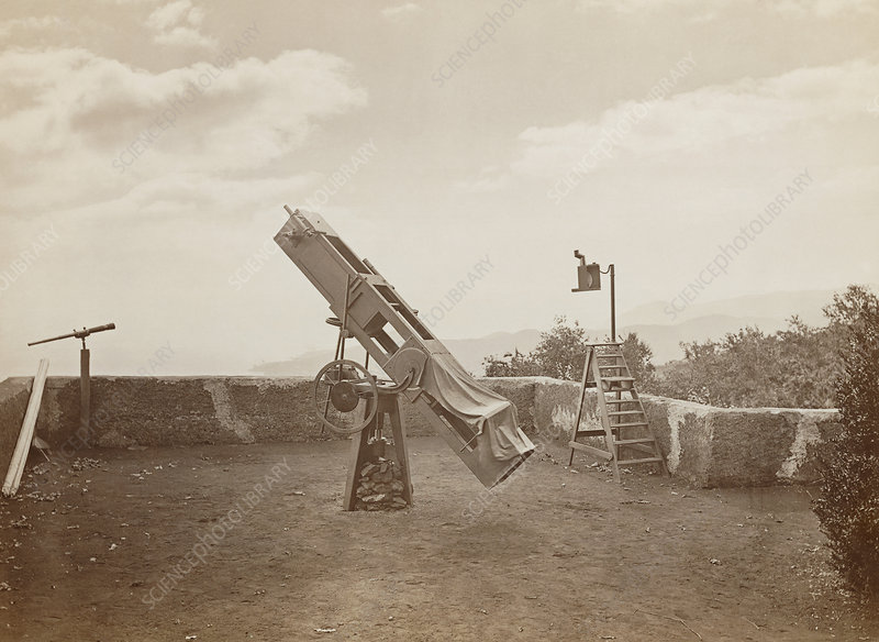 Nathaniel Green's 13 inch telescope