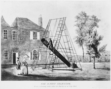 The 20-foot telescope