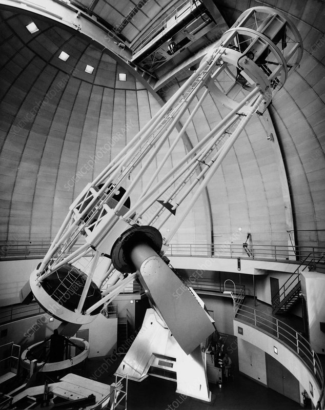 Telescope at the Lick Observatory, USA