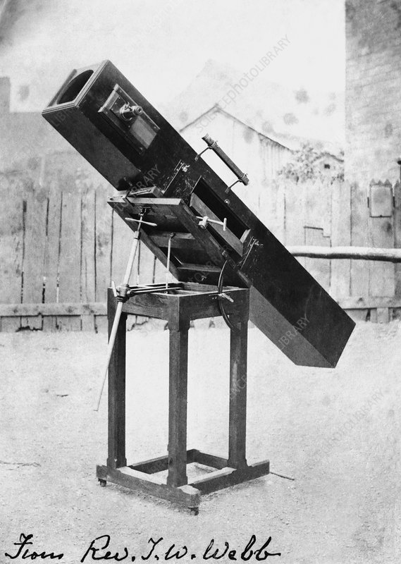 Telescope of T. W. Webb