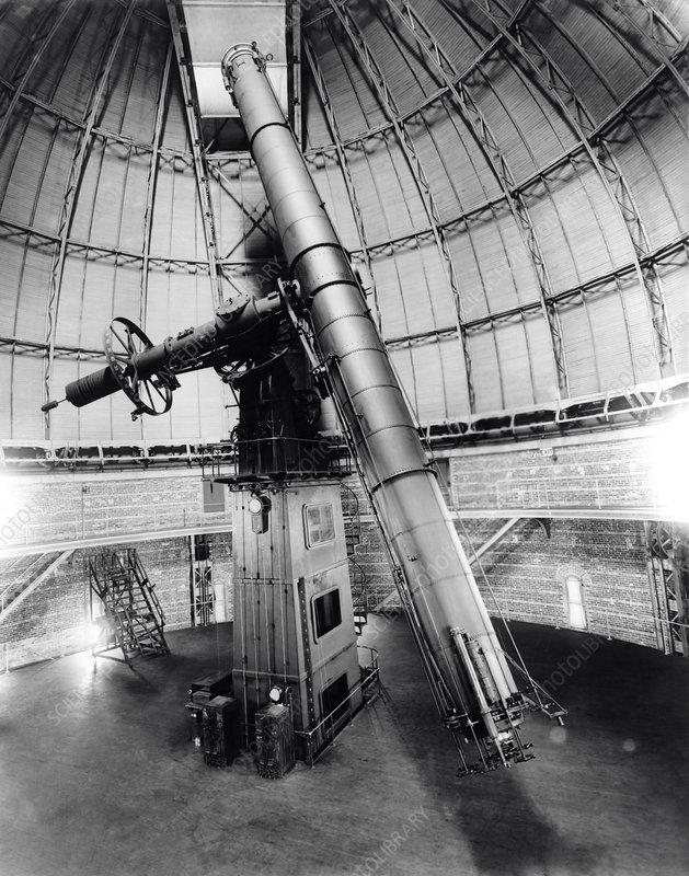 Telescope at Yerkes Observatory, USA