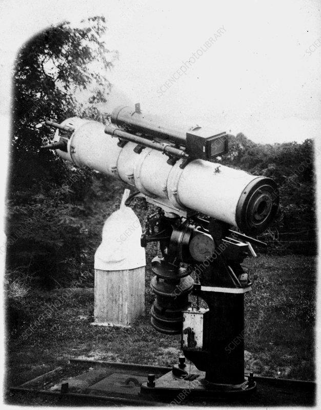 Telescope of P.B. Molesworth, Sri Lanka