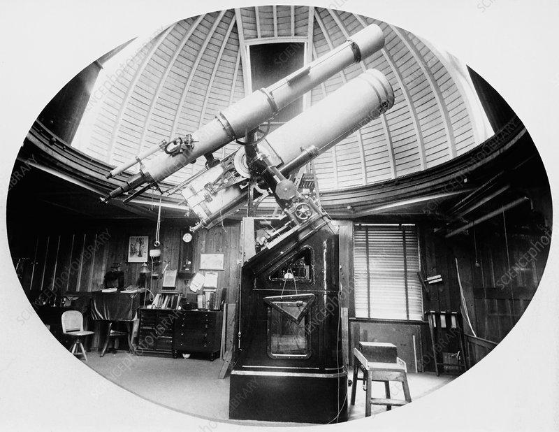 Isaac Roberts' observatory, Maghull, UK