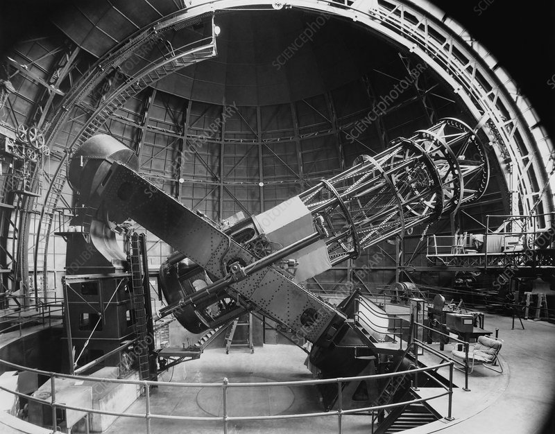 Mount Wilson Hooker telescope, USA