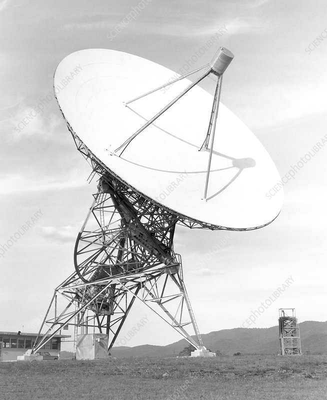Tatel telescope, USA, 1958-1964