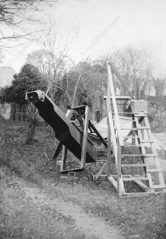 Burton's telescope, Ireland