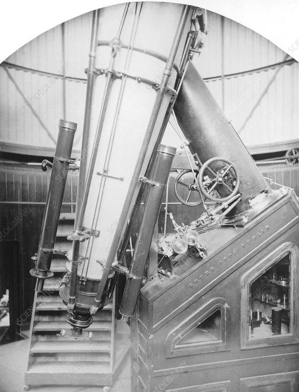 15-inch telescope, Dunecht Observatory