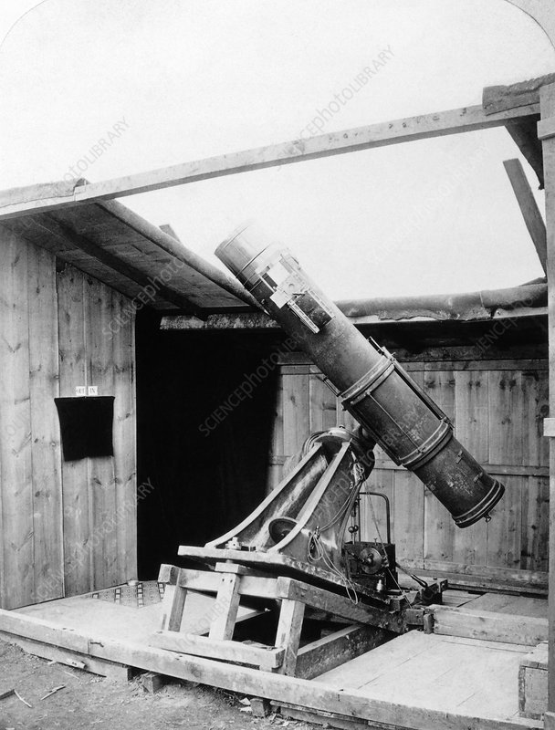Lord Lindsay's telescope, 1870