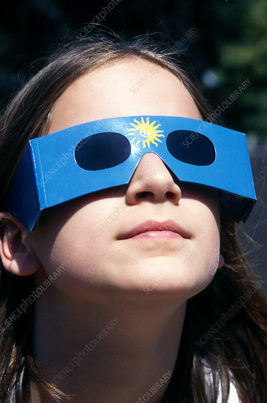 Watching a solar eclipse