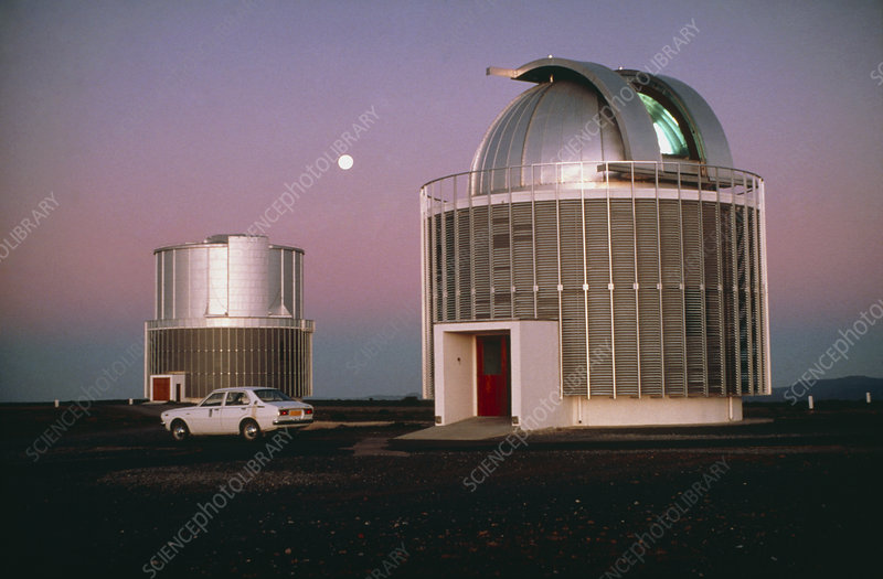 View of the South African Astronomical Observatory