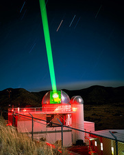 1.5m telescope with laser, Starfire Optical Range