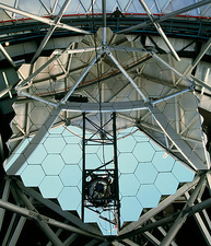 Primary mirror of the Hobby-Eberly Telescope