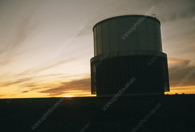 Sunrise over South African observatory
