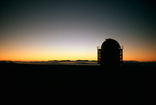 Dawn over South African observatory