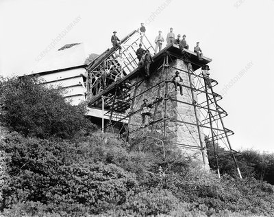Construction of Mount Wilson Observatory