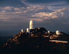 Telescope domes at Kitt Peak Observatory