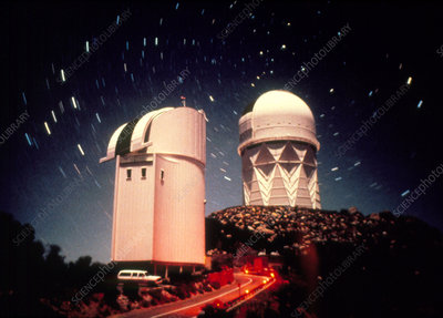 Telescopes at Kitt Peak National Observatory,USA