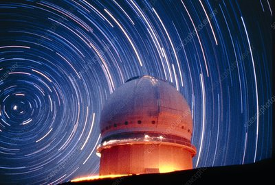 The dome of the Canada-France-Hawaii Telescope