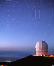 Dome of the Canada-France-Hawaii telescope