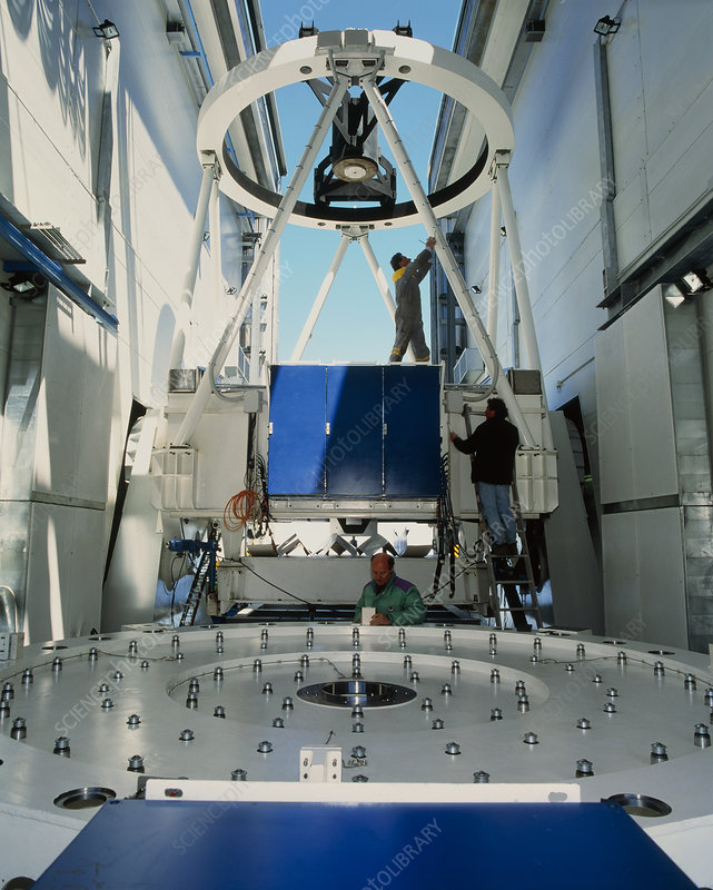Galileo National Telescope mirror support