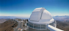 La Silla Observatory seen from 3.6 metre telescope
