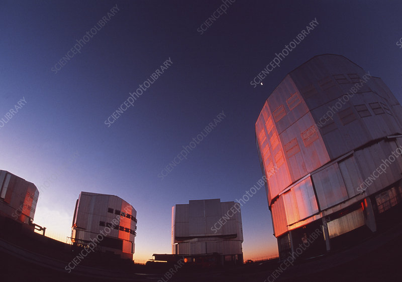 VLT telescopes