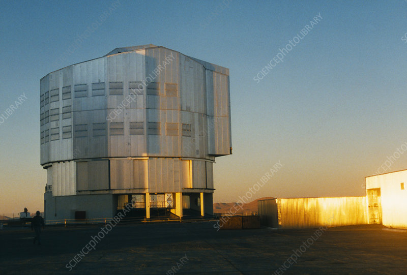 VLT telescope housing