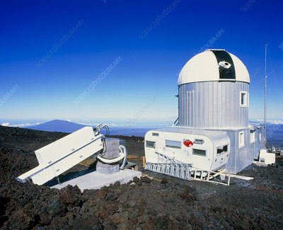 Solar instruments at Mauna Loa observatory, Hawaii