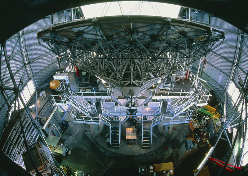 View of the James Clerk Maxwell Telescope, JCMT