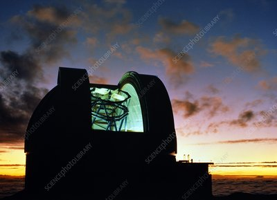 Dome of UKIRT, United Kingdom Infrared Telescope