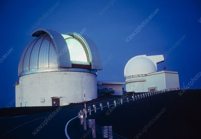 The dome of the UKIRT infrared telescope