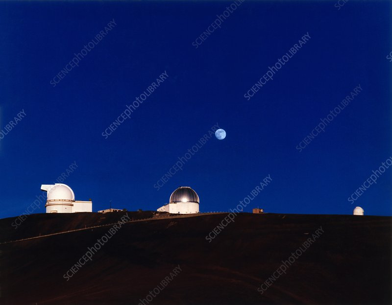 University of Hawaii & UKIRT telescope domes