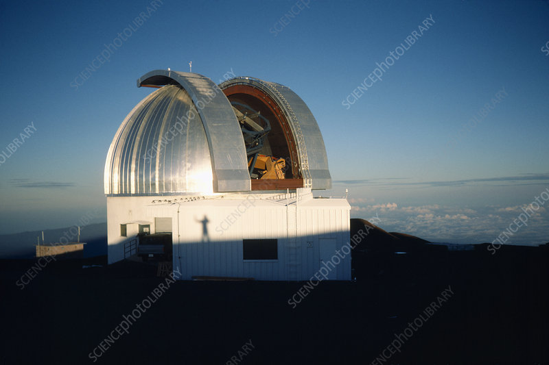 UKIRT telescope at sunrise