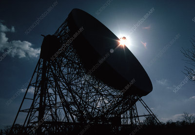 The Mark 1A radio telescope at Jodrell Bank