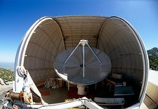 Millimetre wave radio telescope at Kitt Peak